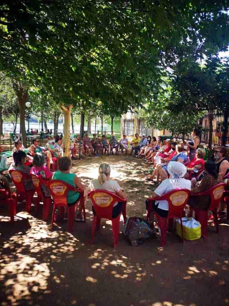 Jornada de convivencia de asociaciones de mujeres de Villarrubia de los Ojos en Lagunas de Ruidera 8