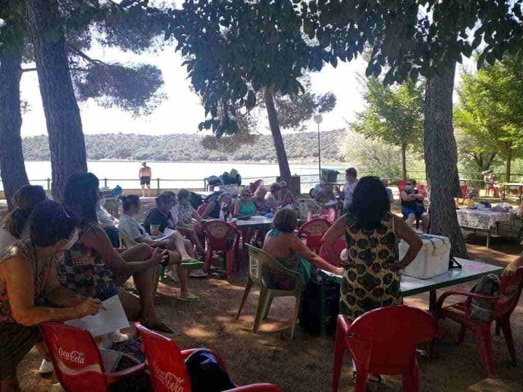 Jornada de convivencia de asociaciones de mujeres de Villarrubia de los Ojos en Lagunas de Ruidera 6