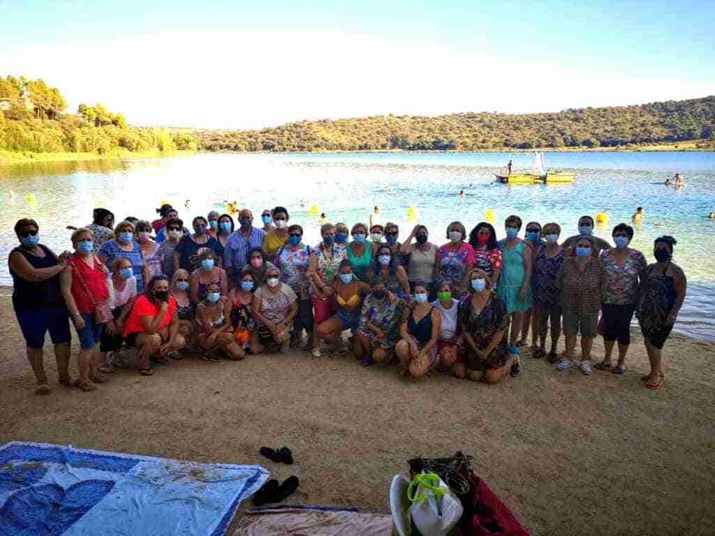La Jornada de convivencia de asociaciones de mujeres de Villarrubia de los Ojos fue en el Parque Natural de las Lagunas de Ruidera 8