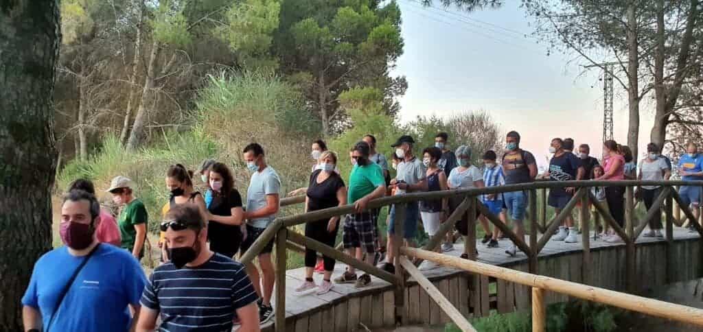 """Ruta de senderismo """"Historias y secretos del río Cigüela"""", más de 90 personas disfrutaron del atractivo en Villarrubia de los Ojos 1"""