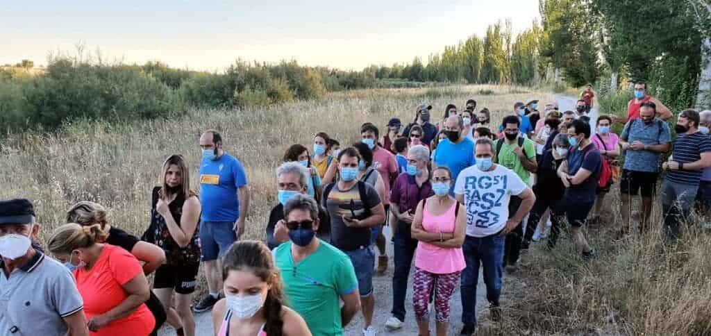 """Ruta de senderismo """"Historias y secretos del río Cigüela"""", más de 90 personas disfrutaron del atractivo en Villarrubia de los Ojos 2"""