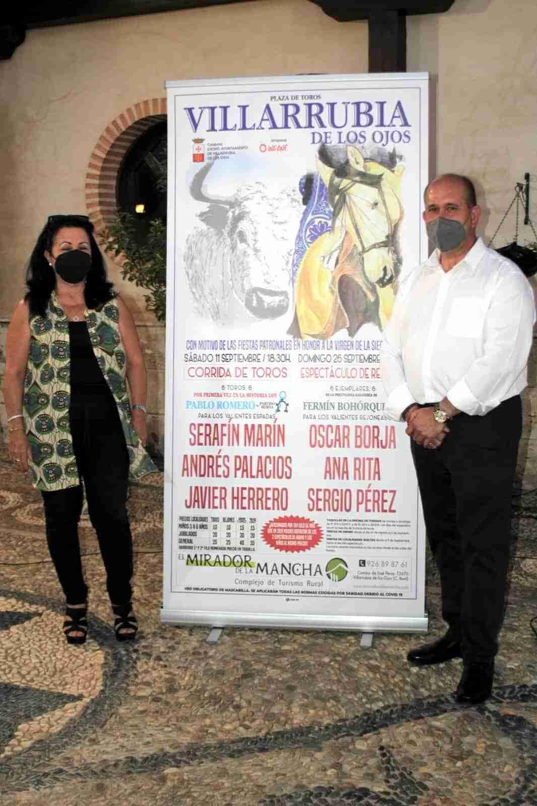 Corrida de Toros en Villarrubia de los Ojos el sábado 11 de septiembre y Espectáculo de Rejones el día 26 3