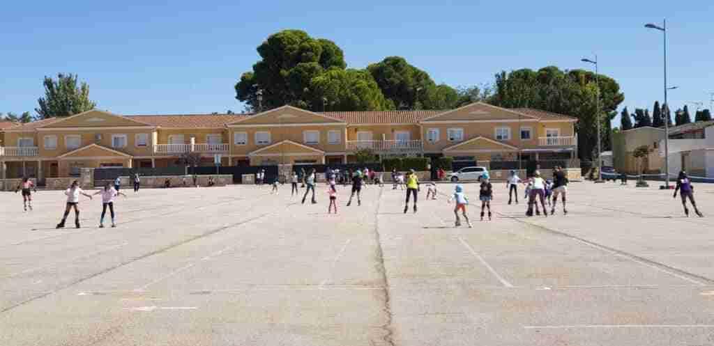 Tenis y patinaje, actividades deportivas centrales en Quintanar el fin de semana 6