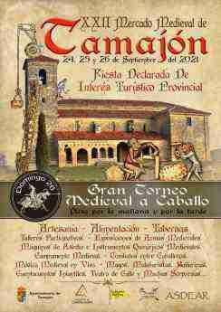 El Mercado Medieval vuelve a Tamajón en la que será su vigésimo segunda edición, el próximo fin de semana 3
