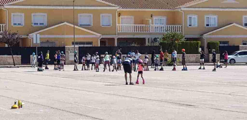 Tenis y patinaje, actividades deportivas centrales en Quintanar el fin de semana 7