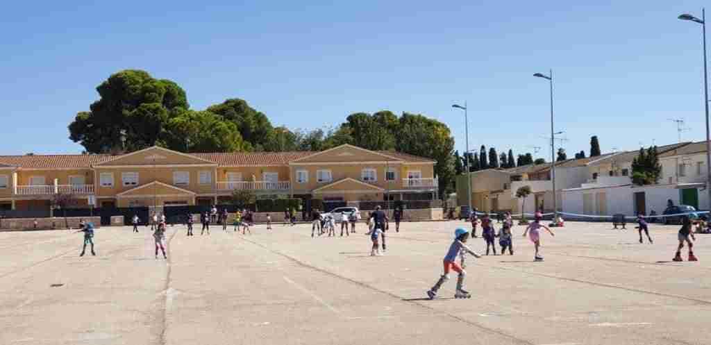 Tenis y patinaje, actividades deportivas centrales en Quintanar el fin de semana 8