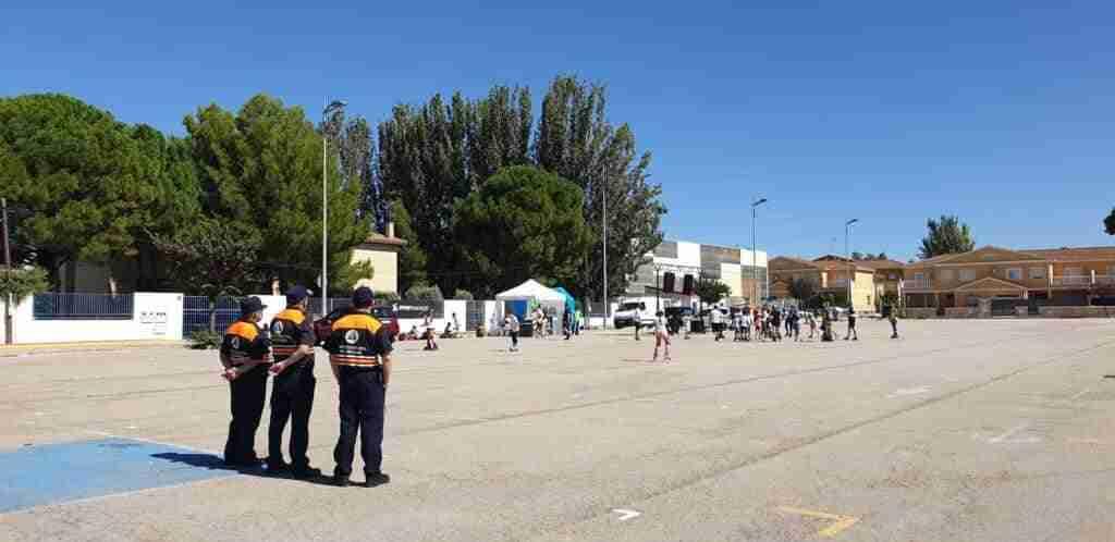 Tenis y patinaje, actividades deportivas centrales en Quintanar el fin de semana 1