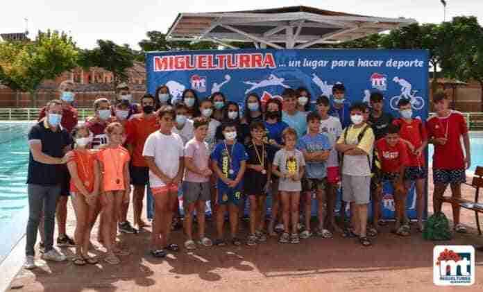 campeonato local natacion javier rivas miguelturra