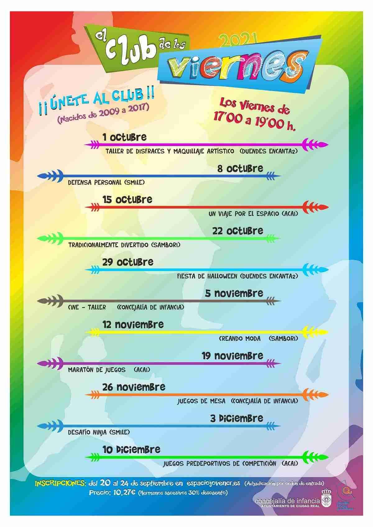 club de los viernes espacio joven ciudad real