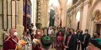 entrega simbolica pendon alfonso viii catedral de cuenca