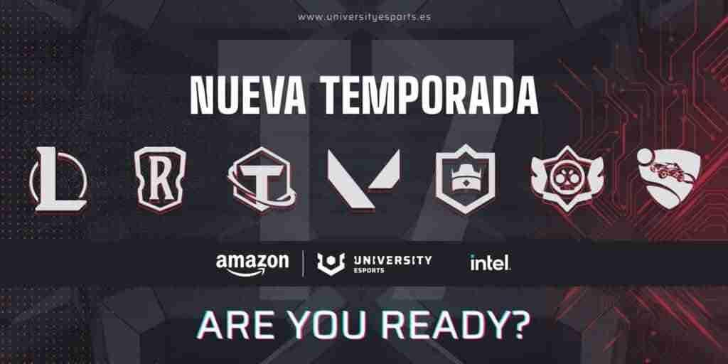 La Universidad de Castilla-La Mancha va a participar en la séptima edición de la liga Amazon UNIVERSITY Esports 1