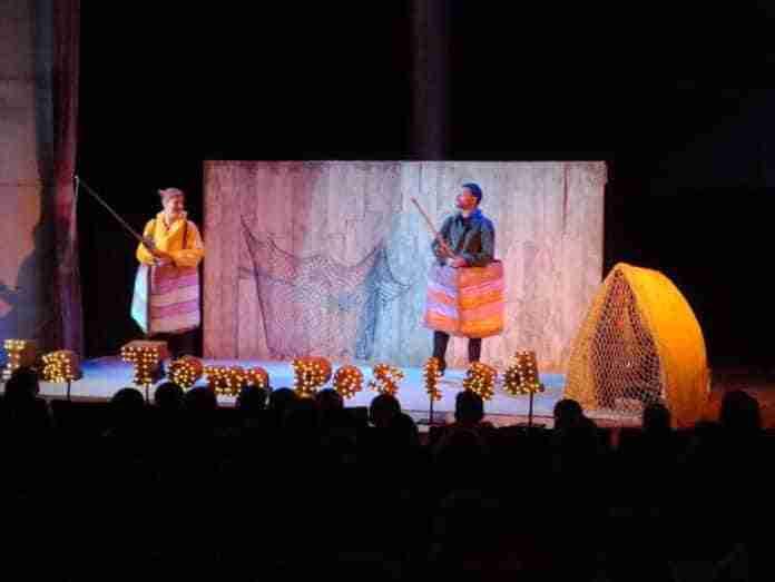 obra de teatro la tempestad de shakespeare en miguelturra