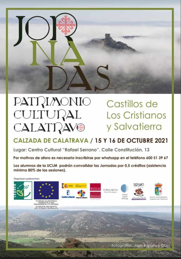"""En octubre se celebran las primeras """"Jornadas de Patrimonio Cultural Calatravo, Castillos de los Cristianos y Salvatierra"""" en Calzada de Calatrava 4"""