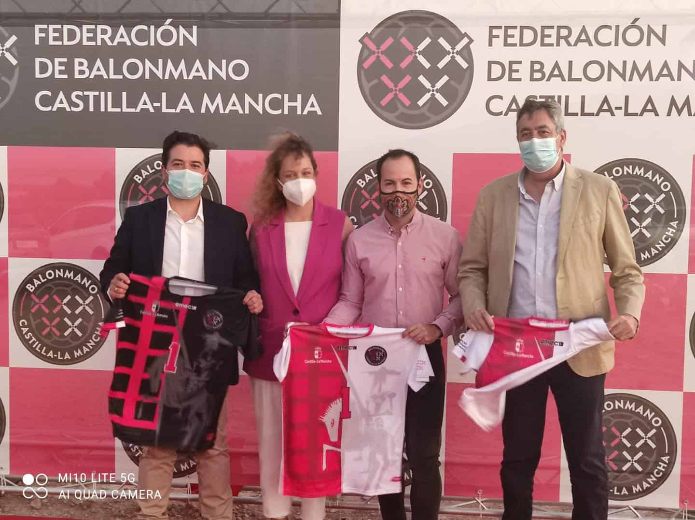 La Federación de Balonmano de Castilla-La Mancha presentó sus equipaciones en Herencia 3