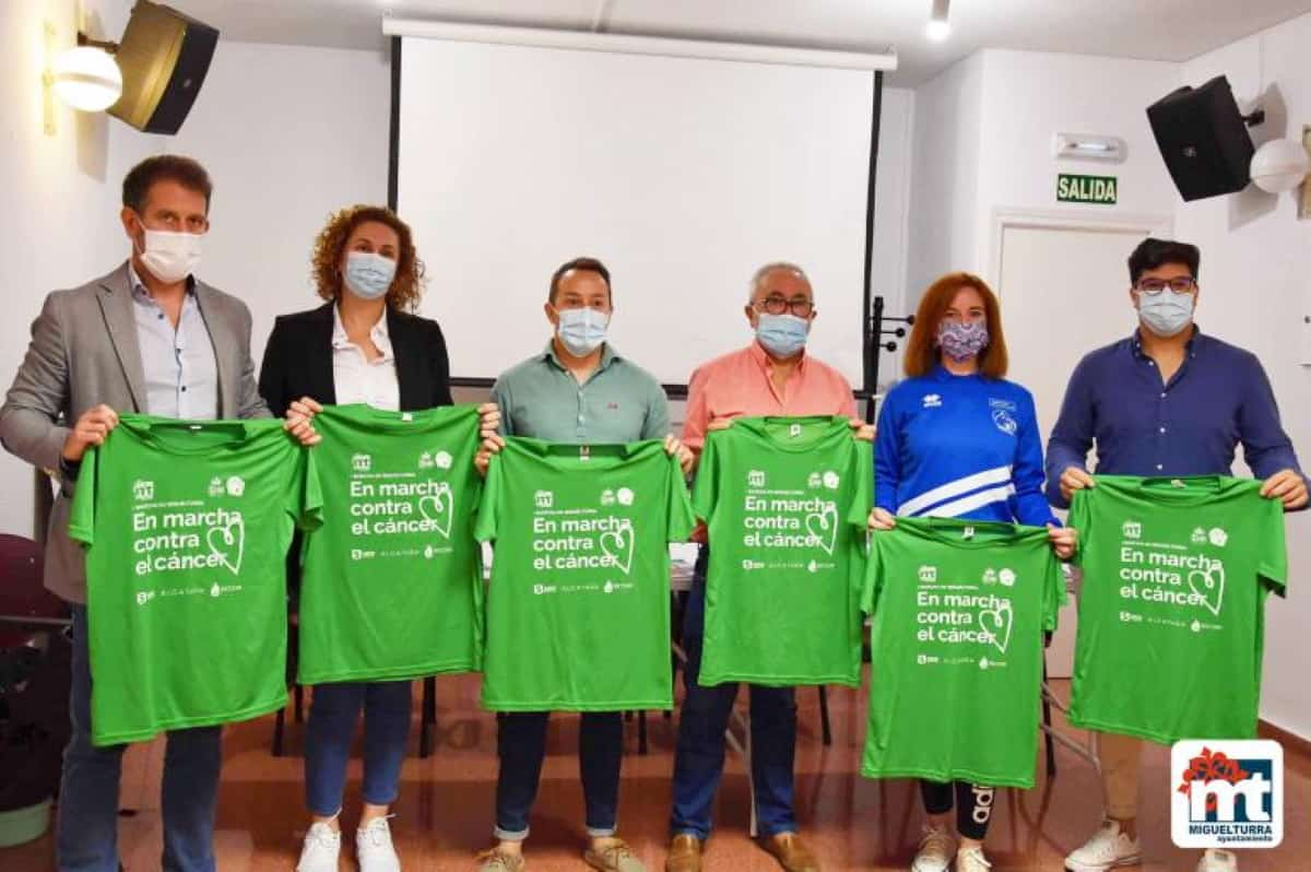 primera marcha contra el cancer en miguelturra