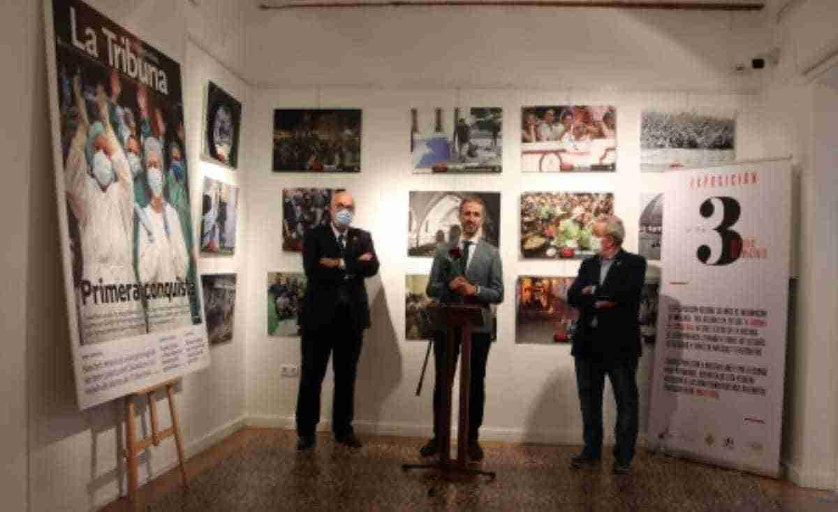 exposicion conmemorativa la tribuna de ciudad real en manzanares