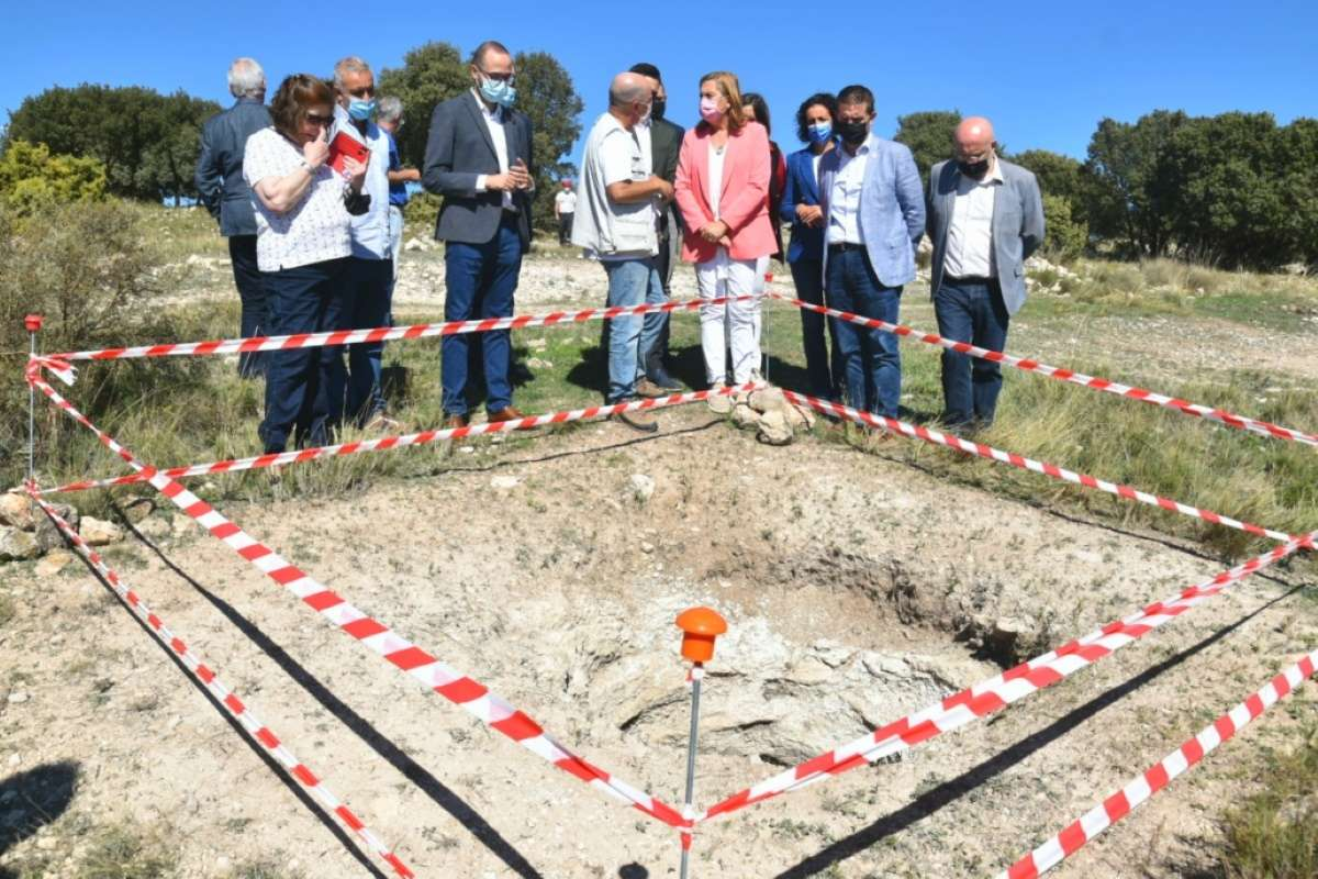 hallazgo mezquita yacimiento la graja higuerela albacete